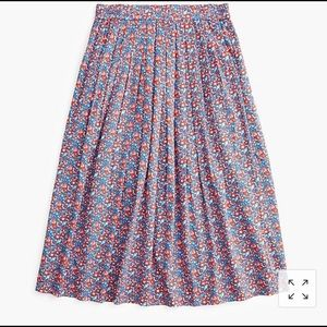 Cotton skirt in liberty Betsy Ann floral